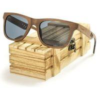 Drewniane okulary przeciwsłoneczne Niwatch Perseus Grey