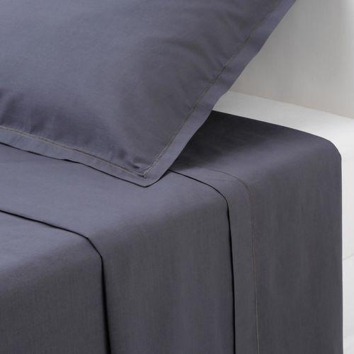 atmosphera cr ateur d 39 int rieur bawe niane prze cierad o z gumk kolor szary 160 x 200 cm. Black Bedroom Furniture Sets. Home Design Ideas