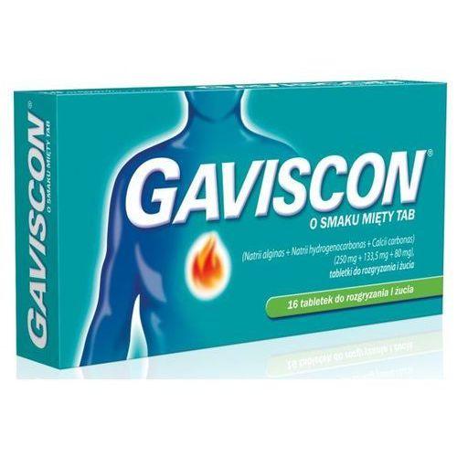 GAVISCON x 16 tabletek o smaku miętowym