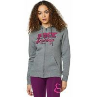 bluza FOX - Qualifier Zip Fleece Heather Graphite (185)
