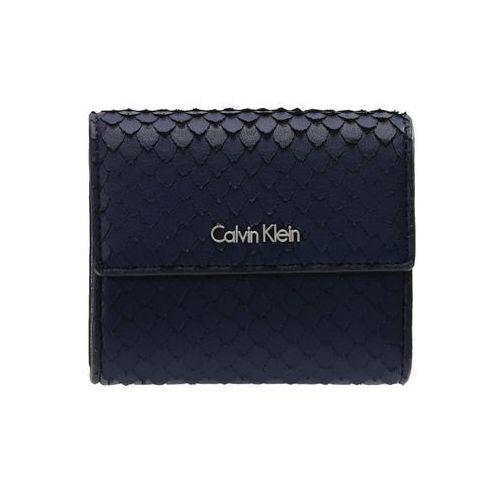 Calvin Klein ARCH SMALL TRIFOLD Portfel blue