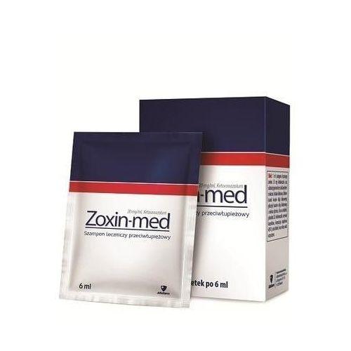 Aflofarm Zoxin-med szampon przeciwłupieżowy 6 saszetek po 6ml