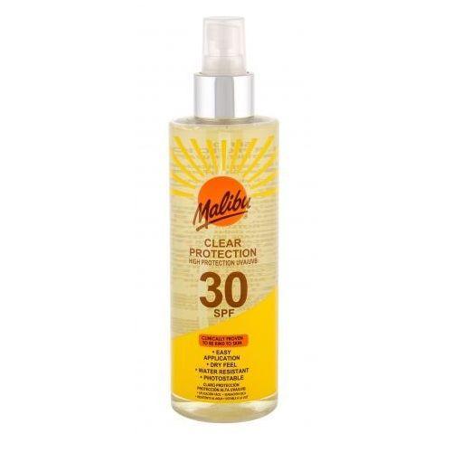 Malibu clear protection spf30 preparat do opalania ciała 250 ml unisex - Rewelacyjna promocja