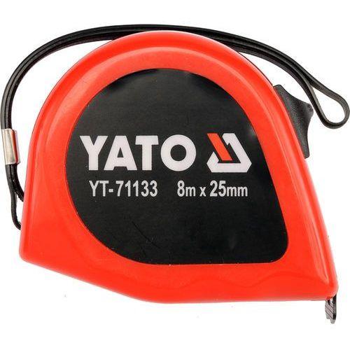 Miara zwijana 8mx25mm Yato YT-71133 - ZYSKAJ RABAT 30 ZŁ, YT-71133 (2448514)