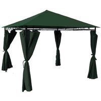 Chomik Namiot ogrodowy 3,5x2,8m zielony (5901292668259)