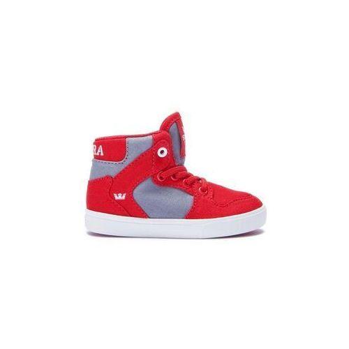 080f7c68b684a Zobacz ofertę Supra Buty - toddler vaider red/dk. grey-white (614) rozmiar