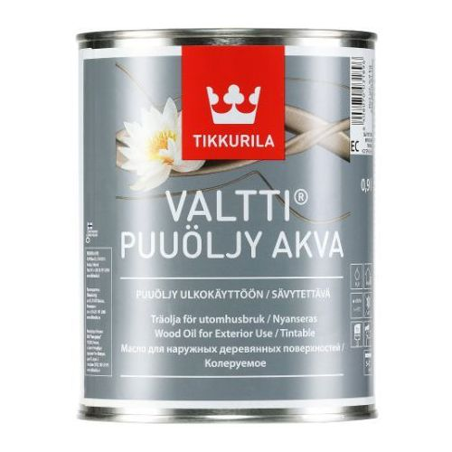 Valtti wood oil akva- olej do drewna, 0.9 l Tikkurila