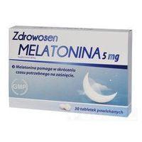 Tabletki ZDROWOSEN MELATONINA 5mg x 30 tabletek
