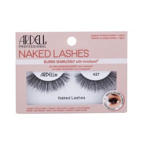 Ardell naked lashes 427 sztuczne rzęsy 1 szt dla kobiet black - Super upust