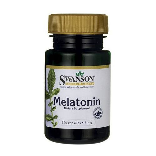 Swanson Melatonina 3mg 120 kaps
