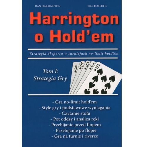 Książka Harrington o Hold`em Tom 1