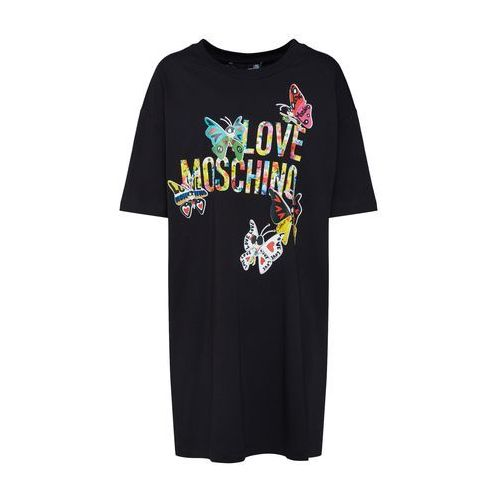 Love Moschino Sukienka 'Abito' czarny, kolor czarny