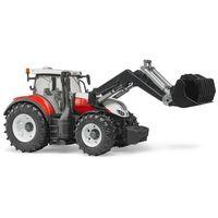 Traktor steyr 6300 terrus cvt z ładowaczem