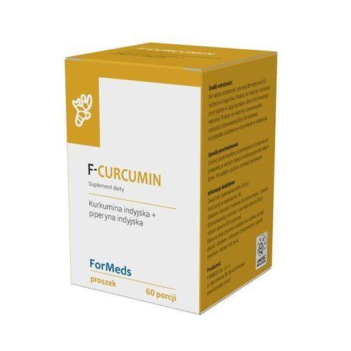 Proszek F-Curcumin Kurkumina indyjska 475mg + piperyna indyjska 9,5mg 60 porcji 30,6g ForMeds