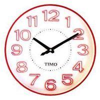 Feniks Zegar timo 43 czerwony 30 cm (5906948247154)