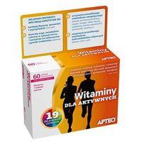 Tabletki APTEO Witaminy dla aktywnych x 60 tabletek