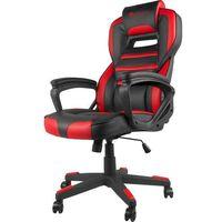 Fotel GENESIS Nitro 350 Czarno-czerwony