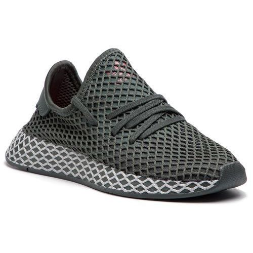 Adidas Buty - deerupt runner j cm8659 legivy/gretwo/cblack