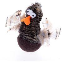 Zooplus exclusive Chirping rolling duck zabawka dla kota - 1 sztuka| -5% rabat dla nowych klientów| darmowa dostawa od 99 zł