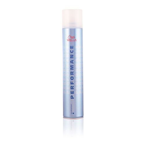 Wella professionals performance lakier do włosów strong (strong hold hairspray) 500 ml