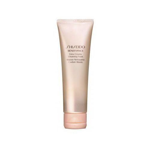 Benefiance extra creamy cleansing foam (w) pianka do mycia twarzy 125ml Shiseido