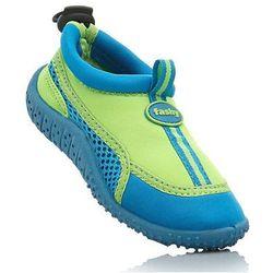 Buty do wody zielona limonka + turkusowy marki Bonprix