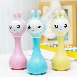 Inteligentna Grzechotka Alilo Smarty Bunny R1 - Pink