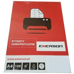 Etykiety biurowe  Emerson