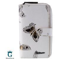 Pojemny portfel damski w motyle peterson pr603