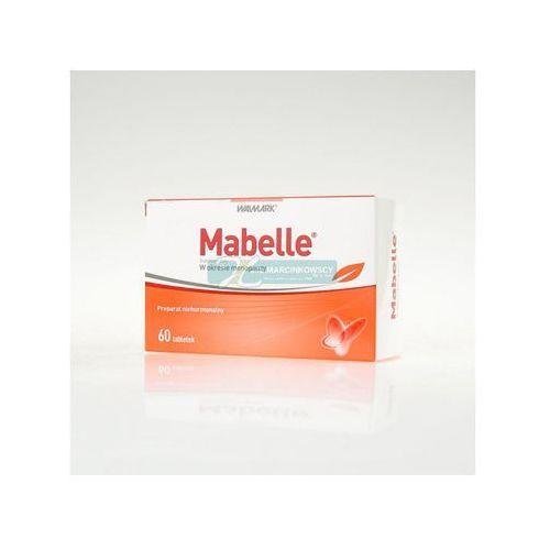 Tabletki Mabelle 60 tabletek Kurier: 13.75, odbiór osobisty: GRATIS!