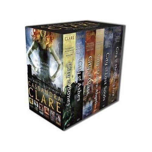 Mortal Instruments 1-6 Slipcas Cassandra Clareová