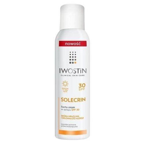 Solecrin spf30 suchy olejek w sprayu 150ml Iwostin - Bombowa cena