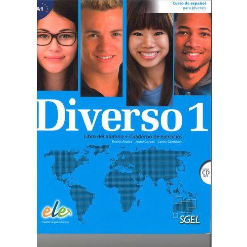 Diverso 1 podręcznik i ćwiczenia + CD audio - Alonso Encina, Jaime Corpas, Gambluch Carina (200 str.)