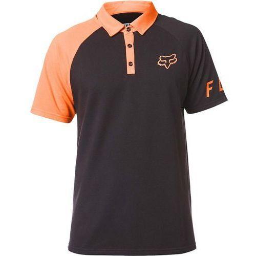 Koszulka - switched on polo black/orange (016) rozmiar: xl marki Fox