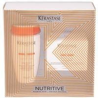 nutritive bain satin 2 irisome zestaw szampon 250 ml + maska do włosów 200 ml dla kobiet marki Kérastase