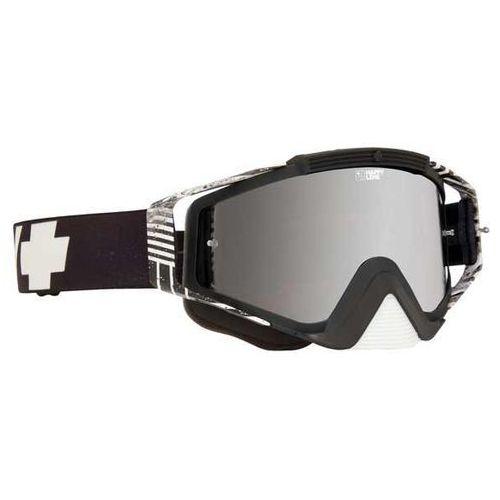 Gogle narciarskie omen mx infinite white - happy bronze w/ silver mirror + clear afp Spy