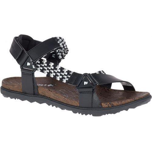ba552e5d92f19 sandały damskie around town sunvue woven black 4 (37), Merrell - Zdjęcie