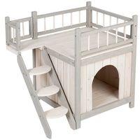 Prince domek dla kotów i małych psów - dł. x szer. x wys.: 70 x 49 x 65 cm| -5% rabat dla nowych klientów| dostawa gratis + promocje marki Zooplus exclusive