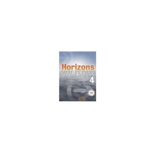 Horizons 4 SB OXFORD - Paul Radley, Daniela Simons, Colin Campbell, oprawa broszurowa