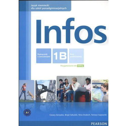 Infos 1B Podręcznik z ćwiczeniami (+CD) (9788376005348)