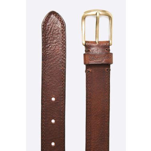 e6478562416f51 Wrangler - pasek skórzany refined perforate - fotografia produktu