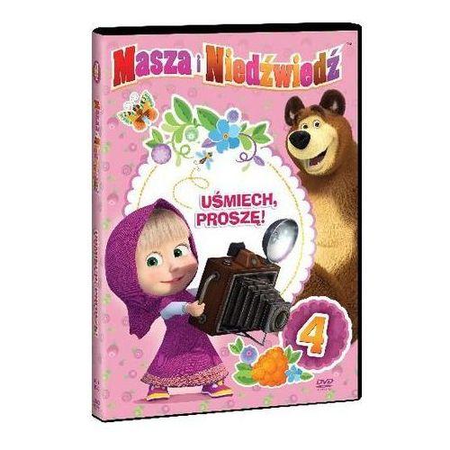 Masza i Niedźwiedź. Część 4: Uśmiech, proszę! (DVD) - Oleg Kuzovkov (7321997610809)