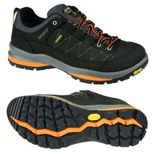 Męskie buty trekkingowe nero nabuk trekking 2,0/2 12501n64g czarny 41 marki Grisport