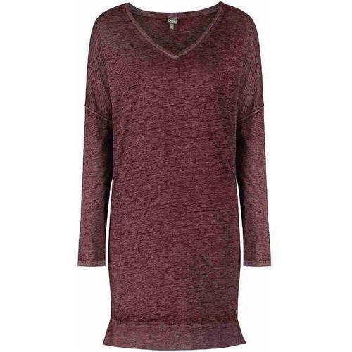 Sukienka - minimalist dark red (bu002) rozmiar: s Bench