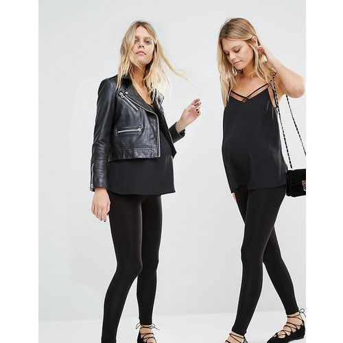 New look maternity seam free legging 2 pack - black