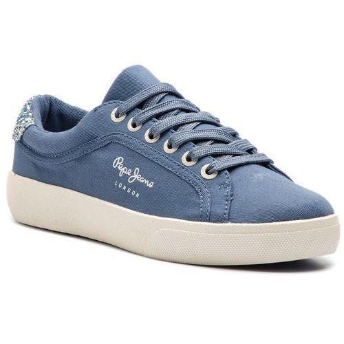 Sneakersy - rene surf pls30826 marine 585 marki Pepe jeans