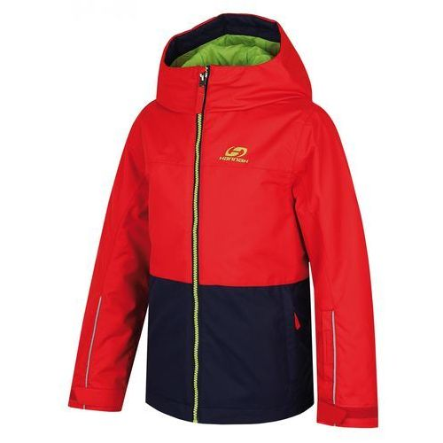 Hannah kurtka Shifty JR Fiery red/peacoat 116