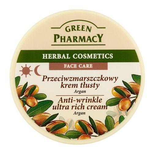 Green Pharmacy Argan 150ml przeciwzmarszczkowy krem na dzień i na noc - tłusty [W]