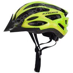 Kross Kask rowerowy laki m 55-58cm zielony