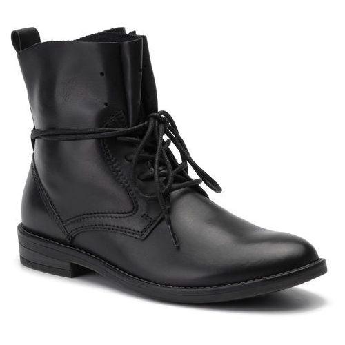 Botki - 2-25133-33 black antic 002, Marco tozzi, 36-41